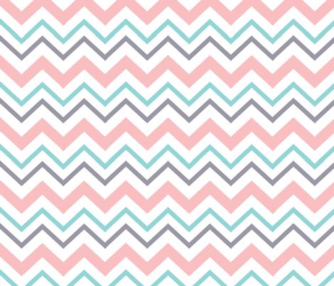 Navy and Pink Florals 02 fabric by prettygrafik on Spoonflower - custom fabric