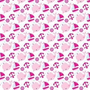 Pink Nautical 06