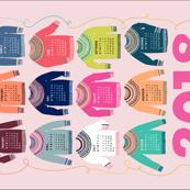 Woolly Jumpers calendar 2018