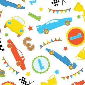 Race Cars Boys 03