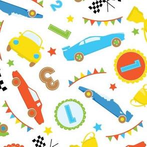 Race Cars Boys 11
