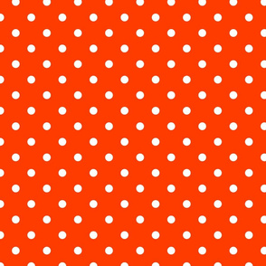 Orange-Pop-and-White-Polka-Dots