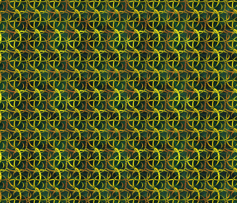 Loops - Sunflower fabric by azureimagestudio on Spoonflower - custom fabric
