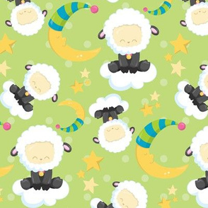 Sleepy Counting Sheeps 03