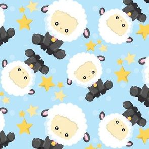 Sleepy Counting Sheeps 08