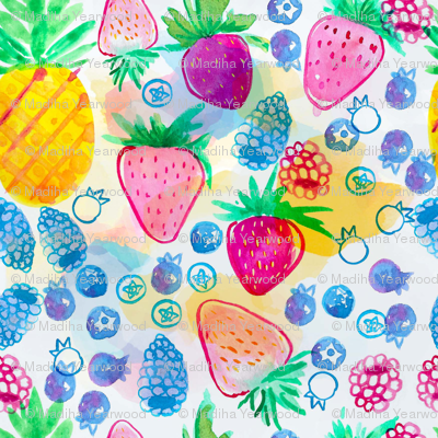 Pineapple Berry Punch