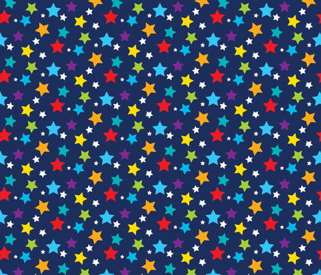 Solar System 04 fabric by prettygrafik on Spoonflower - custom fabric