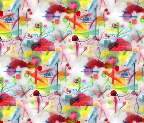 Kandinskish fabric by karensawesomethings on Spoonflower - custom fabric