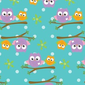 Spring Owls 04