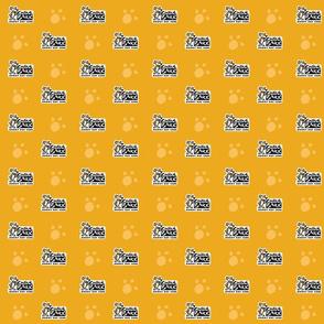 Central Bark Logo Orange