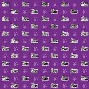 Central Bark Logo Purple
