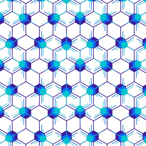 Blue Hexstars