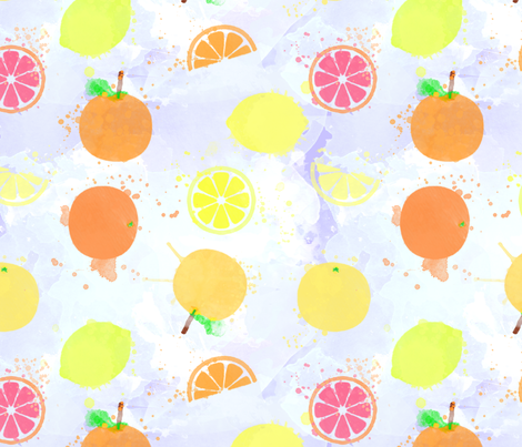 wcfruit fabric by brittemily on Spoonflower - custom fabric