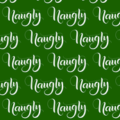 Naughty - Green - Christmas