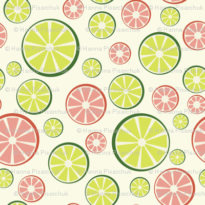 Juicy Limes and Grapefruits