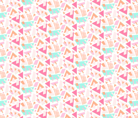 Terrazo Pop! fabric by pixabo on Spoonflower - custom fabric