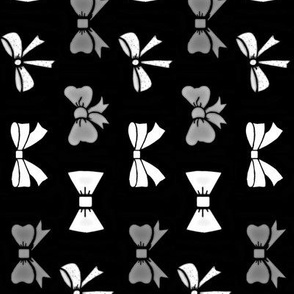 party bows / black-side
