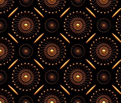 Bangles-n-Bobbles fabric by stradling_designs on Spoonflower - custom fabric