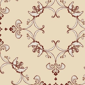 regal flourish - brown
