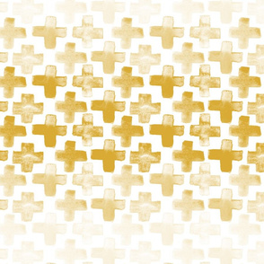 "cross fade - 2"" - gold"