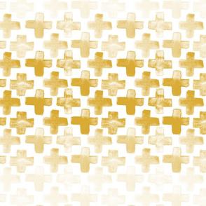 "cross fade - 2"" - gold"
