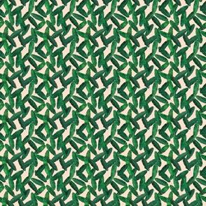 (micro print) banana leaves