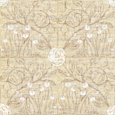 Fable Vintage Tile (wheat linen)