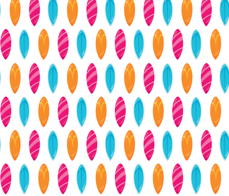PS746-Summer Beach Party 02 fabric by prettygrafik on Spoonflower - custom fabric