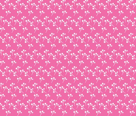 Whimsical Flowers 02 fabric by prettygrafik on Spoonflower - custom fabric