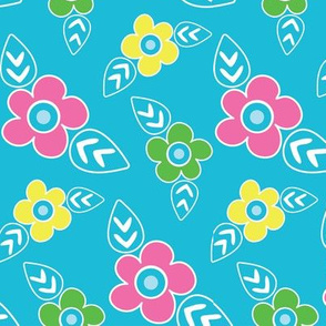 Whimsical Flowers 03
