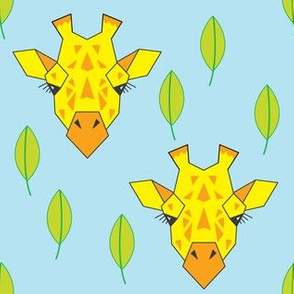 giraffe-and-leaves---boy-colors