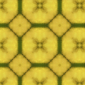 Yellow Flower Tiles
