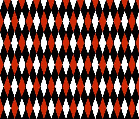 HarleQuin_Fabric fabric by sparkey730 on Spoonflower - custom fabric