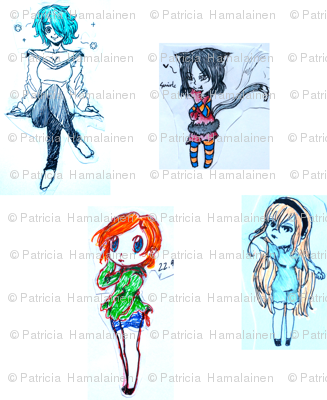 Four_girls_16x16in_preview