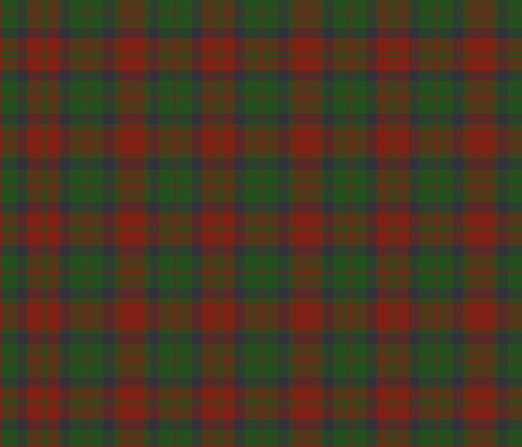 "78th Fraser Highlanders tartan - 7"" fabric by weavingmajor on Spoonflower - custom fabric"