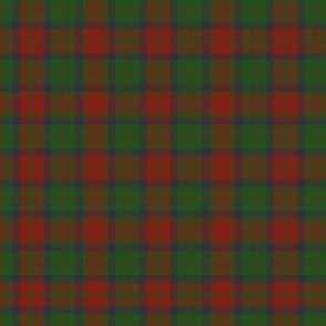 78th Fraser Highlanders tartan - 7""