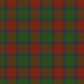 78th Fraser Highlanders tartan - 10""