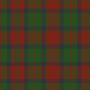 78th Fraser Highlanders tartan - 14""