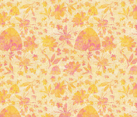 Bee's Delight fabric by ravens_spirit_song on Spoonflower - custom fabric