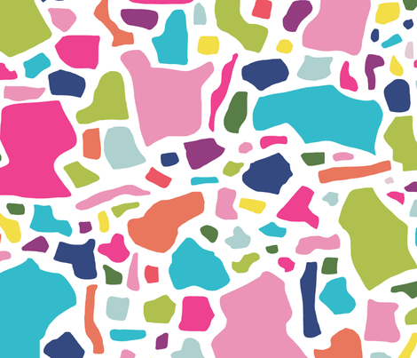 Confetti in Party fabric by danikaherrick on Spoonflower - custom fabric