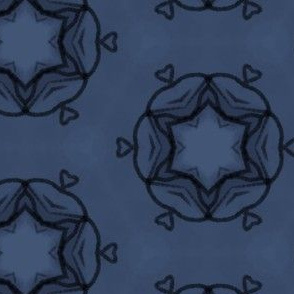 Blue Roundabout Hearts