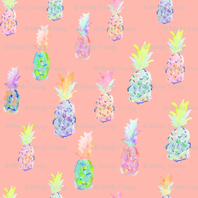 indy bloom design pineapple party A