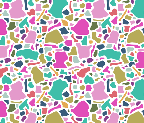 Confetti in Mod fabric by danikaherrick on Spoonflower - custom fabric