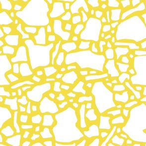 Confetti- Daffodil and white