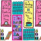 I Love Books - Bookmarks / white