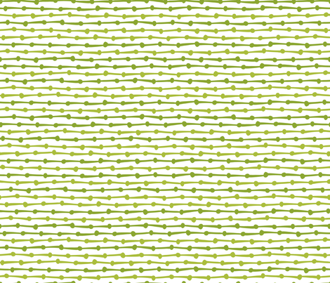DotsDashes-green fabric by melhales on Spoonflower - custom fabric