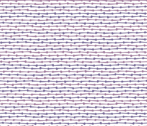 DotsDashes-purple fabric by melhales on Spoonflower - custom fabric