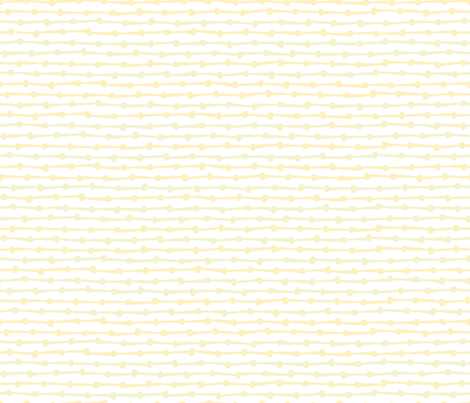 DotsDashes-yellow fabric by melhales on Spoonflower - custom fabric
