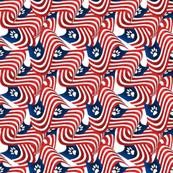 US patriotic flag pets