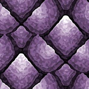 Chipped Flint Purple